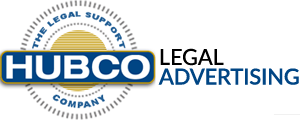 HUBCO LEGAL ADVERTISING